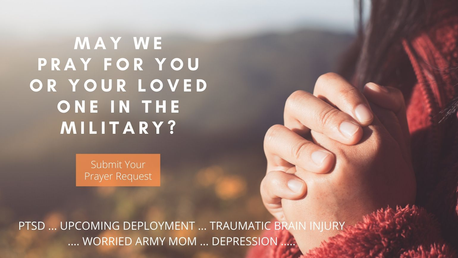 Military Prayer Request